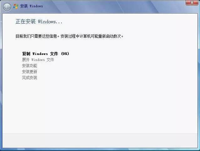纯净版win7系统安装教程 文章 第9张